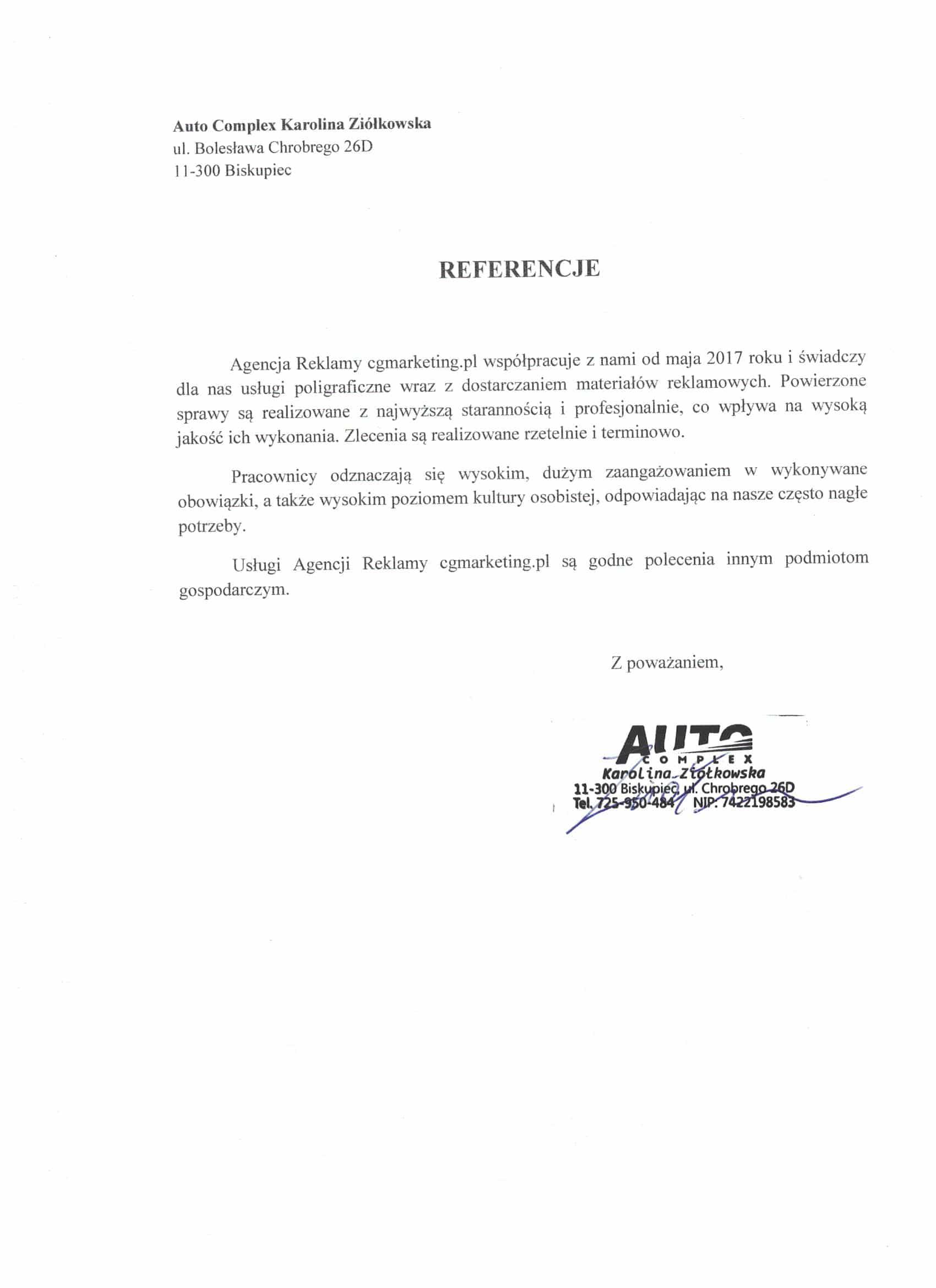Referencje-AutoComplex