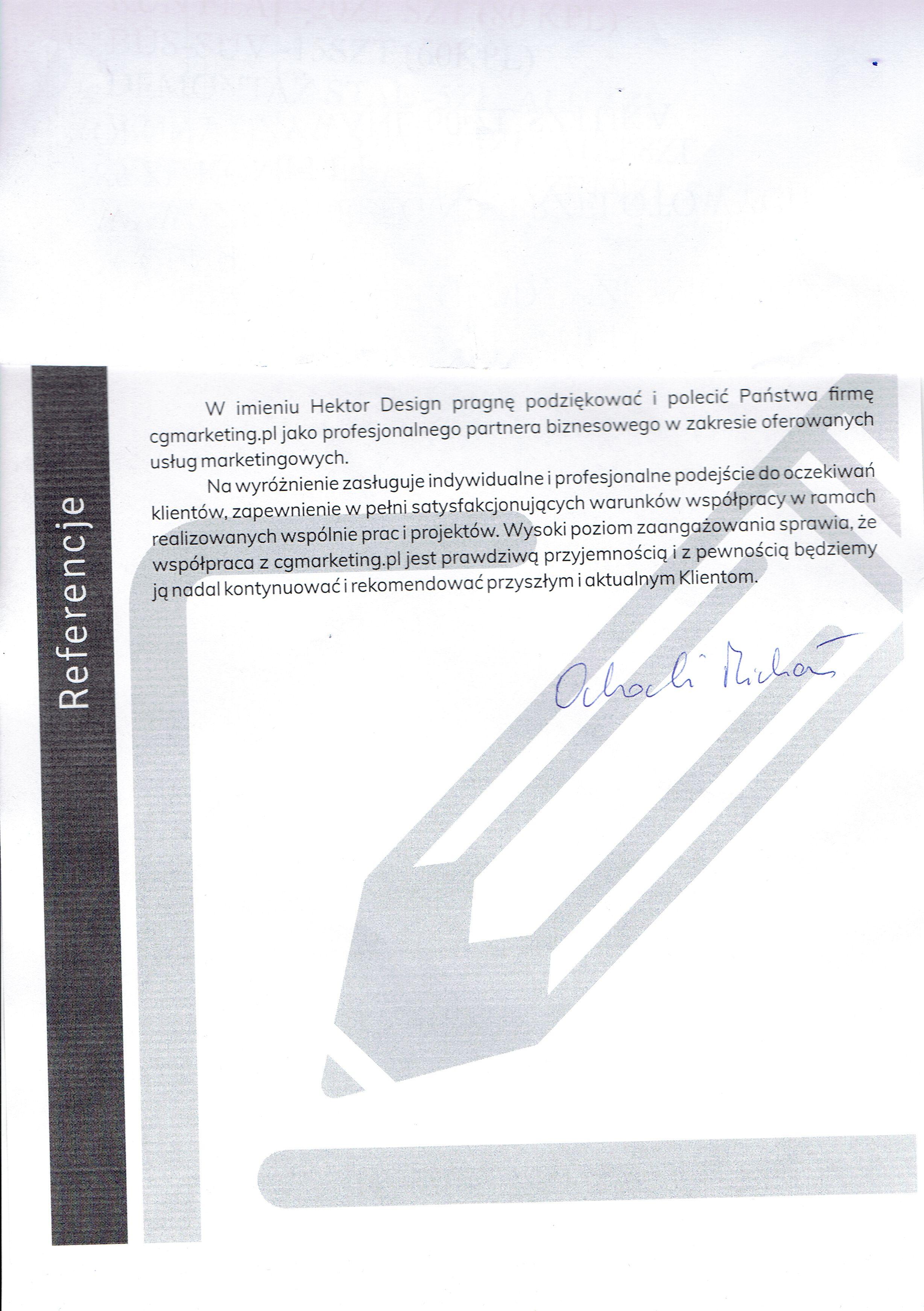 Referencje-Firma-HektorDesign
