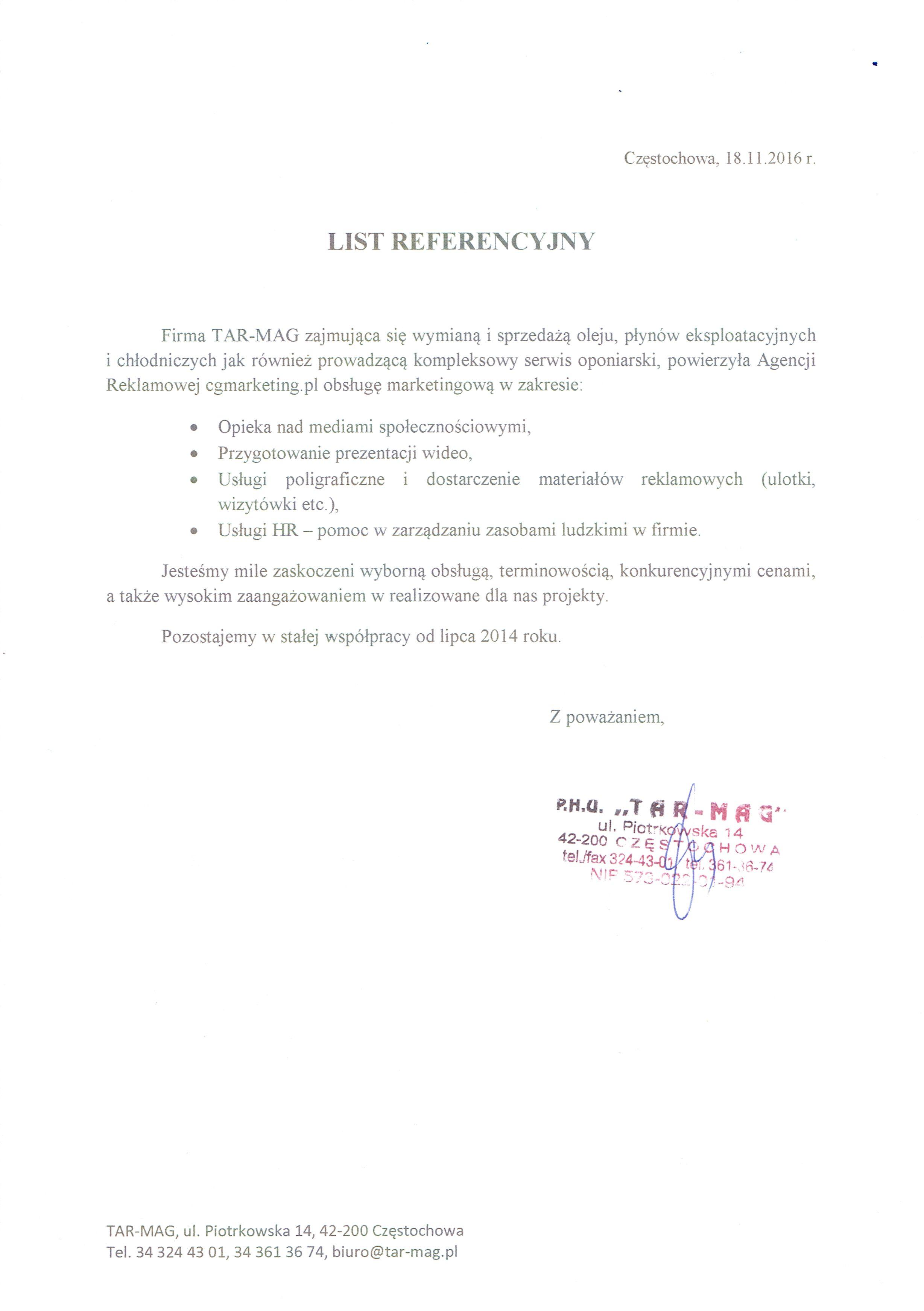 Referencje-Firma-TarMag