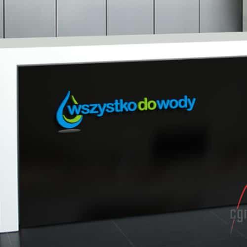 Projekt logo - wszystko do wody