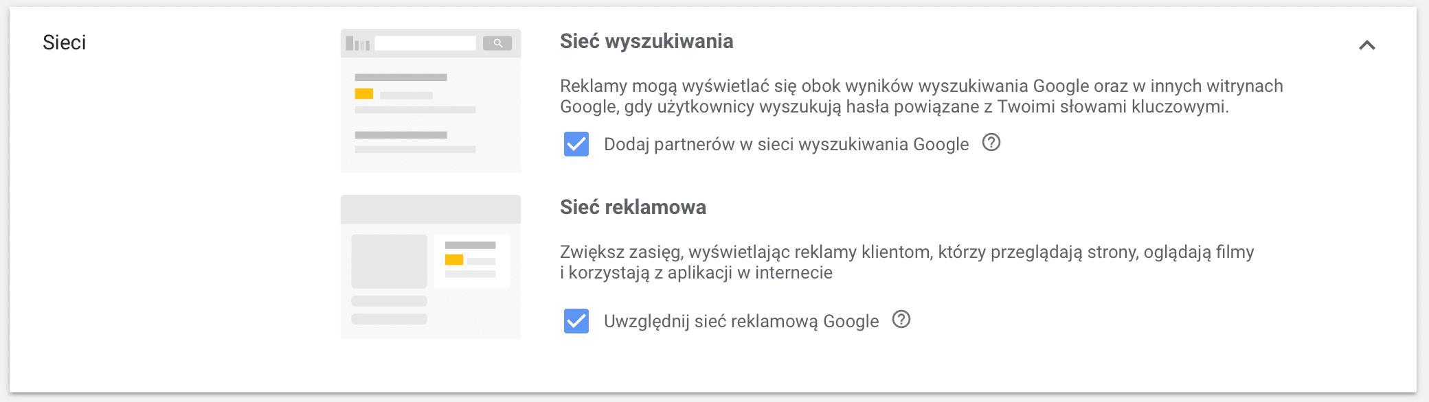 Sieć wyszukiwania czy sieć reklamowa