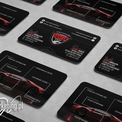 Fabryka Blasku - karta biznesowa