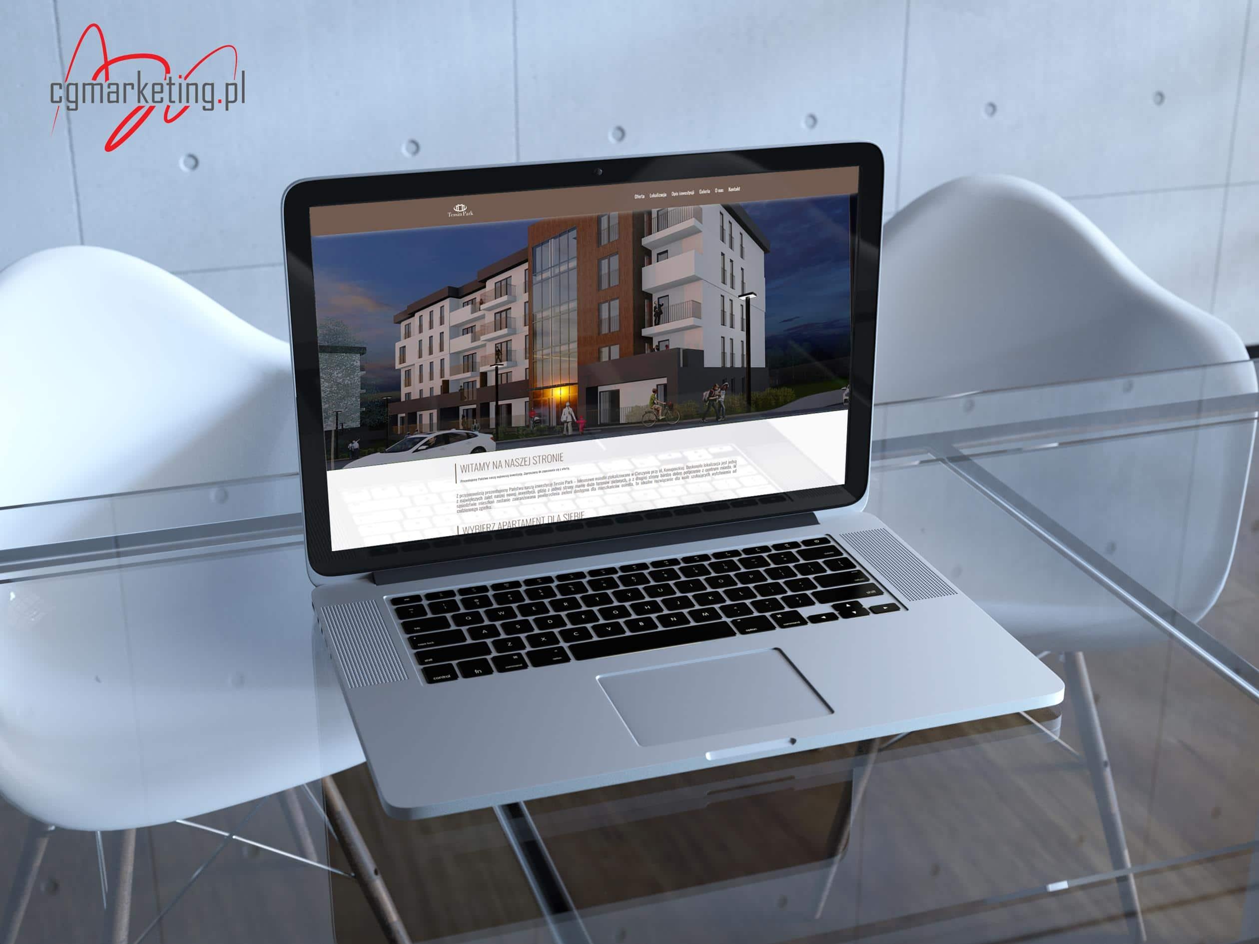 Strona internetowa Tessin Park