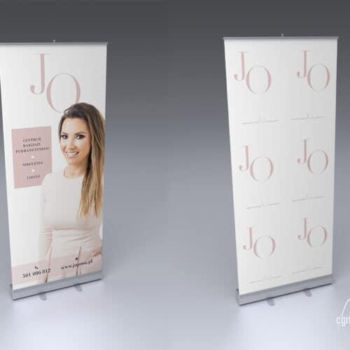 Joanna Ogrodnik JOPMU - rollup reklamowy