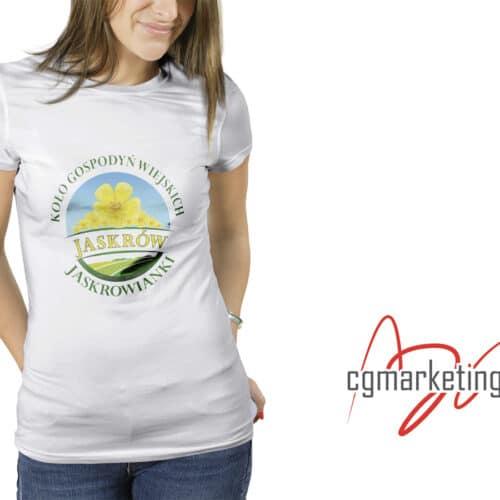 Koszulka z indywidualnym nadrukiem - Jaskrowianki