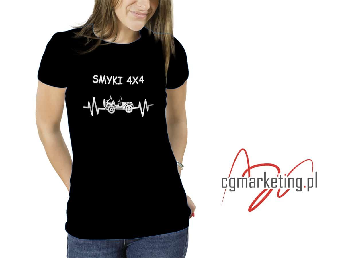 Koszulka z indywidualnym nadrukiem