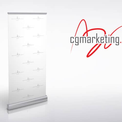 JO Permanent Makeup & Cosmetology rollup reklamowy