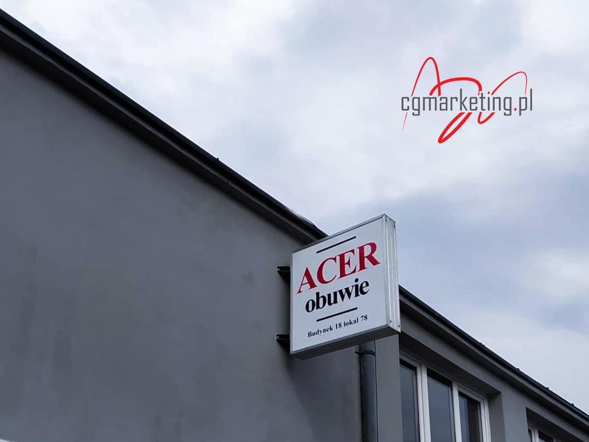 acer-szyld-kaseton-reklama-zewnetrzna-czestochowa